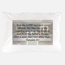 Genesis 12:1 Pillow Case