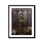 Octopus' lair - Old Photo Framed Panel Print