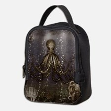 Octopus' lair - Old Photo Neoprene Lunch Bag