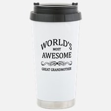 World's Most Awesome Great Grandmother Stainless S