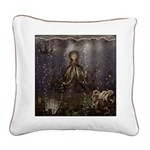Octopus' lair - Old Photo Square Canvas Pillow