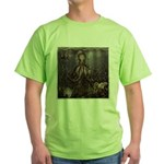 Octopus' lair - Old Photo Green T-Shirt