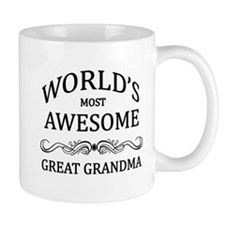 World's Most Awesome Great Grandma Mug