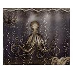 Octopus' lair - Old Photo King Duvet