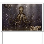 Octopus' lair - Old Photo Yard Sign