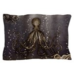 Octopus' lair - Old Photo Pillow Case