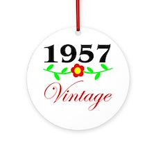 1957 Vintage Ornament (Round)
