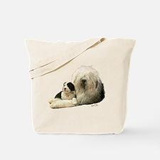 Old Eng. Sheepdog / Bobtail Tote Bag