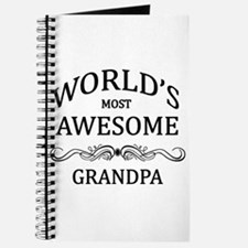 World's Most Awesome Grandpa Journal