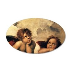 Angels by Raphael, Vintage R Wall Sticker