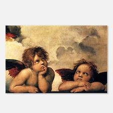 Angels by Raphael, Vintag Postcards (Package of 8)