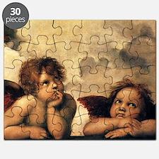 Angels by Raphael, Vintage Renaissance Art Puzzle