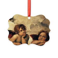 Angels by Raphael, Vintage Renais Ornament