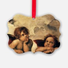 Angels by Raphael, Vintage Renais Ornament