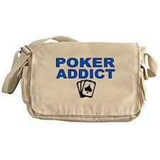 Poker Addict Messenger Bag