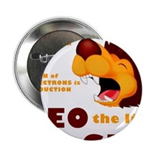 """LEO The Lion Says GER 2.25"""" Button"""