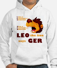 LEO The Lion Says GER Hoodie
