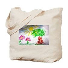 Childs Drawing Tote Bag