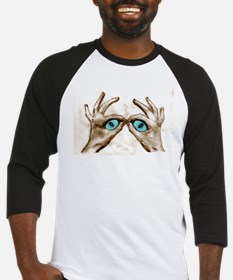 Hand Shaped Eyes Baseball Jersey