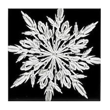 Ice Crystal Tile Coaster