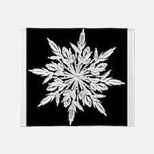 Ice Crystal Throw Blanket