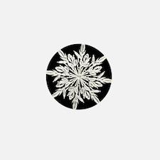 Ice Crystal Mini Button