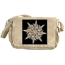 Ice Crystal Messenger Bag