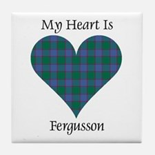 Heart - Fergusson Tile Coaster