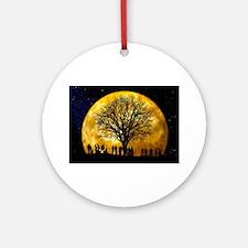 Family Tree Ornament (Round)
