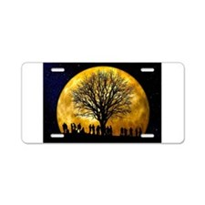 Family Tree Aluminum License Plate