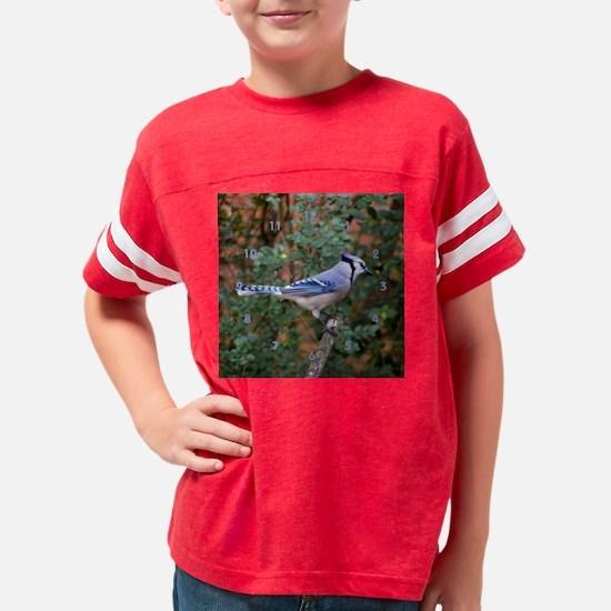 clockbluejay Youth Football Shirt