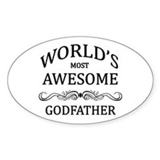 World's Most Awesome Godfather Decal