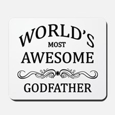 World's Most Awesome Godfather Mousepad