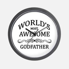 World's Most Awesome Godfather Wall Clock