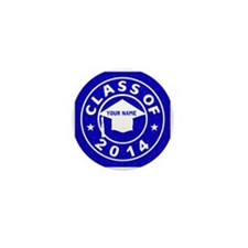 Class Of 2014 Graduation Mini Button