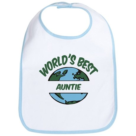World's Best Auntie Bib