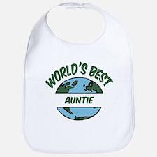 World's Best Auntie Bib
