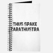 Thus Spake Zarathustra Journal