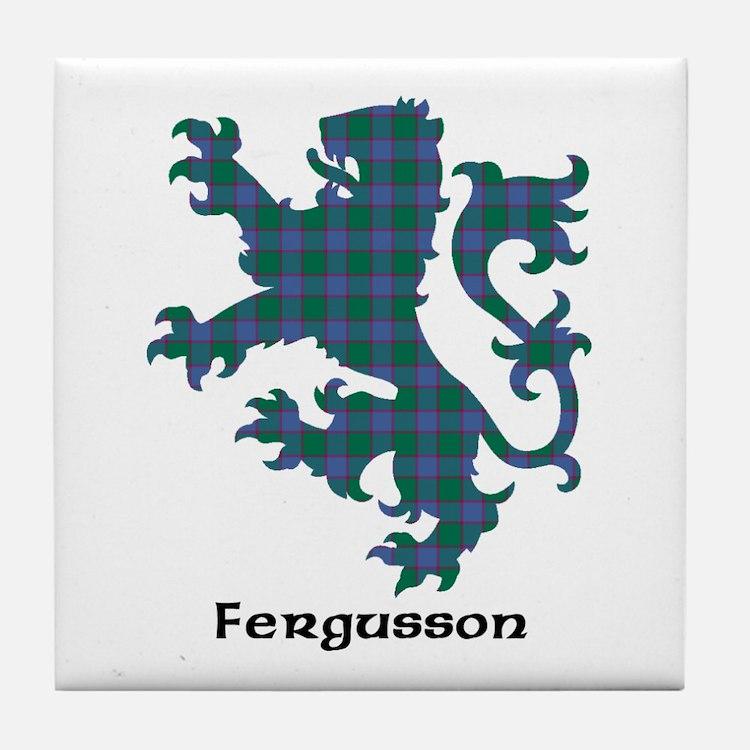 Lion - Fergusson Tile Coaster