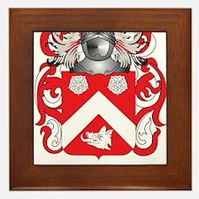 Boggs Coat of Arms Framed Tile