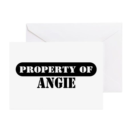 Property of Angie Greeting Cards (Pk of 10)