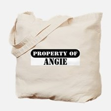 Property of Angie Tote Bag