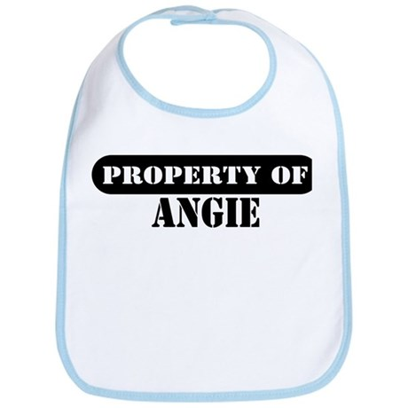 Property of Angie Bib