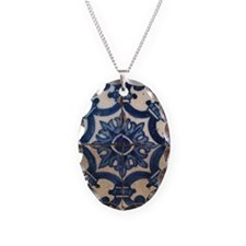 Portuguese tile de Braga Necklace