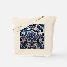 Portuguese tile de Braga Tote Bag