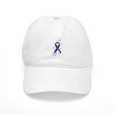 Blue Awareness Ribbon Hat