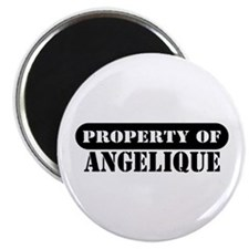 """Property of Angelique 2.25"""" Magnet (100 pack)"""