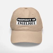 Property of Angelique Baseball Baseball Cap