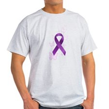 Purple Awareness Ribbon T-Shirt