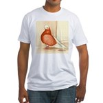 English Shortface Bald Fitted T-Shirt